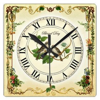 Beautiful HandMade Art Craft . Top Quality,  Clock
