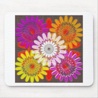 Beautiful HAPPY CHAKRA Sunflower Greetings GIFTS Mouse Pad