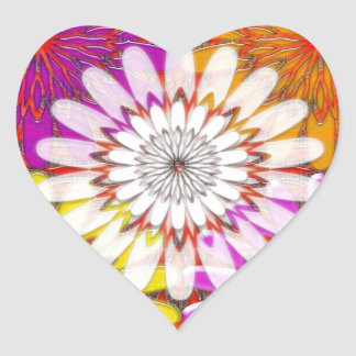 Beautiful HAPPY CHAKRA Sunflower Greetings GIFTS Stickers