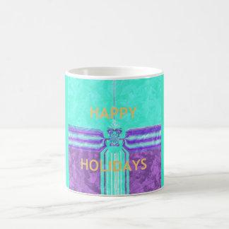 Beautiful Happy Holidays Mug Wrap-Image Template
