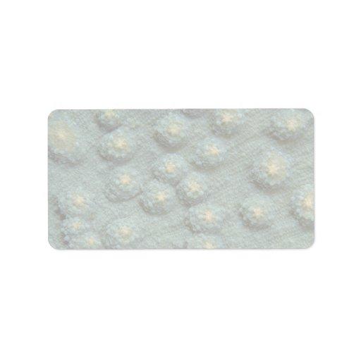 Beautiful Hard corals Custom Address Labels