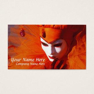 Beautiful Harlequin Business Card