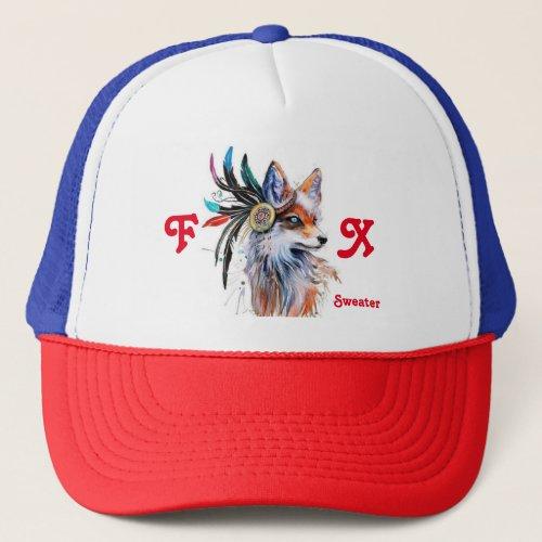 Beautiful Hat Fox Sweater