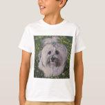 Beautiful Havanese Dog Art T-Shirt