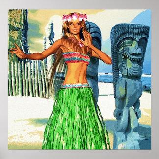 Beautiful Hawaii Poster