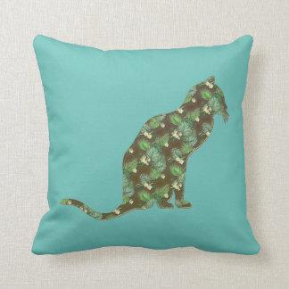 Beautiful Hawaiian Kitty Cat American MoJo Pillow