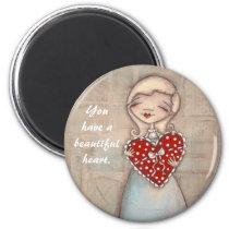 Beautiful Heart - Magnet