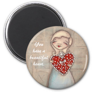 Beautiful Heart - Magnet