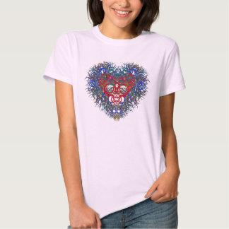 Beautiful Heart on a T-shirt