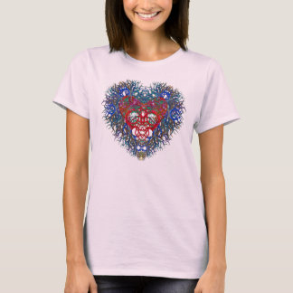 Beautiful Heart on a T-shirt