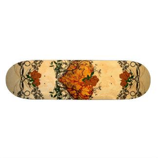 Beautiful heart skateboard deck