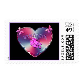 """Beautiful"" Heart Stamp"