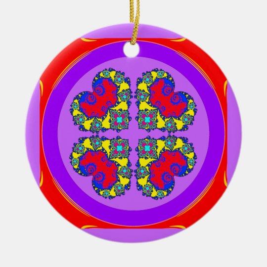 Beautiful Hearts # 2 Ornament