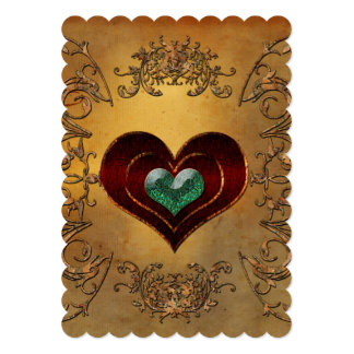 Beautiful hearts card