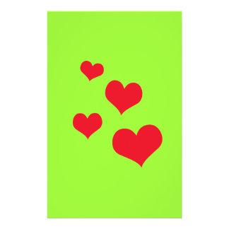 Beautiful hearts custom flyer