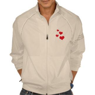 Beautiful hearts jacket