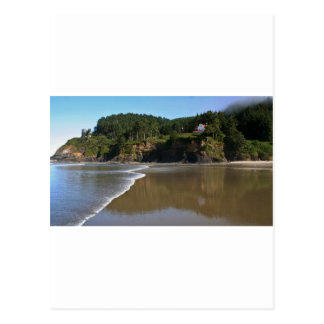 Beautiful Heceta Head, Oregon Postcard