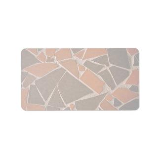Beautiful Helter-skelter tile Custom Address Labels