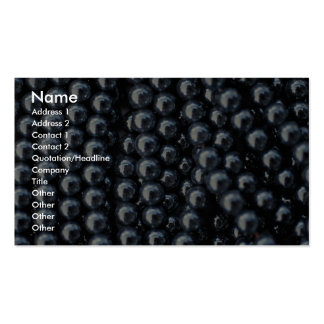 Beautiful Hematite beads on strings Double-Sided Standard Business Cards (Pack Of 100)
