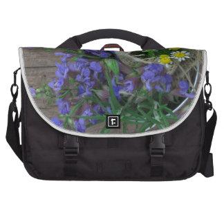 beautiful herbal background commuter bag