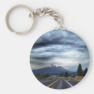 Beautiful highway scenery key chains