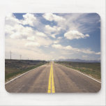 Beautiful highway scenery mouse pads