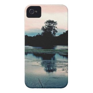 Beautiful Hillsborough Lake Reflection iPhone 4 Case
