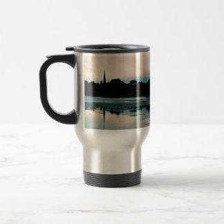 Beautiful Hillsborough Lake Reflection Travel Mug