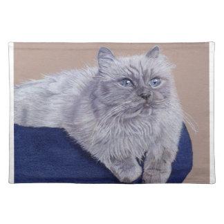 Beautiful Himalayan Cat American MoJo Placemat