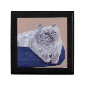 Beautiful Himalayan Cat Jewelry/Gift Box