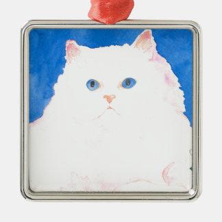 Beautiful Himalayan Kitten Christmas Ornament
