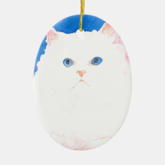 Beautiful Himalayan Kitten Ornament
