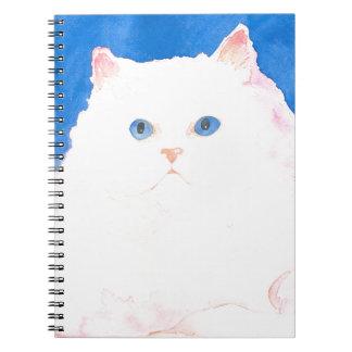 Beautiful Himalayan Kitten Spiral Notebook