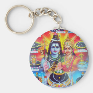 Beautiful Hindu Dieties and Goddesses Keychain