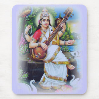 Beautiful Hindu Dieties and Goddesses Mouse Pad