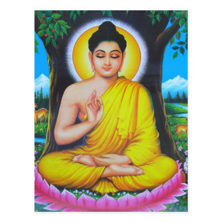 Beautiful Hindu Dieties and Goddesses Postcard