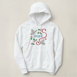 Beautiful Holiday Hoodie for Peace