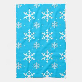 Beautiful Holiday Snowflake Pattern Towel