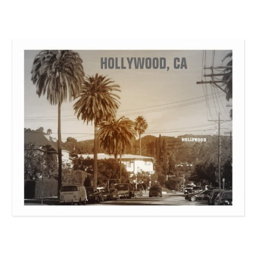 Beautiful Hollywood Postcard!