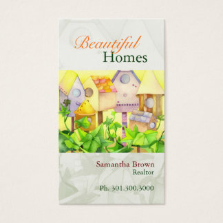Beautiful Homes Realtors Business Cards