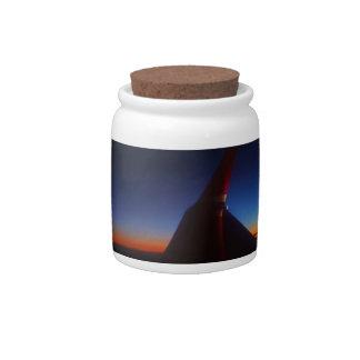 Beautiful Horizon Candy Jars