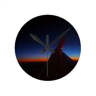 Beautiful Horizon Round Clock