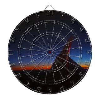 Beautiful Horizon Dart Board