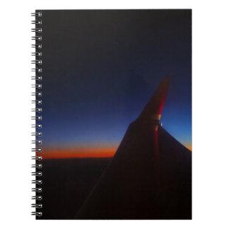 Beautiful Horizon Spiral Note Books