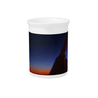 Beautiful Horizon Beverage Pitcher