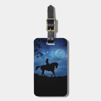 Beautiful Horse and Rider Luggage Tag