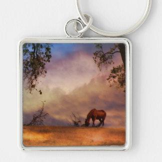 Beautiful Horse Art Key Chain