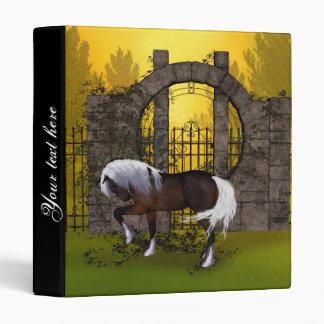 Beautiful horse binders