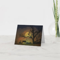 Beautiful Horse Blank Note Card