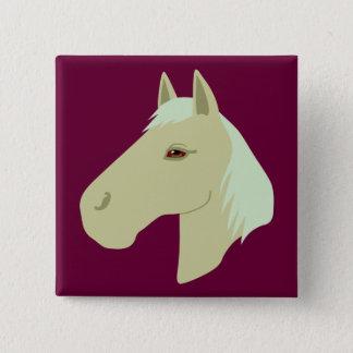 Beautiful Horse Button